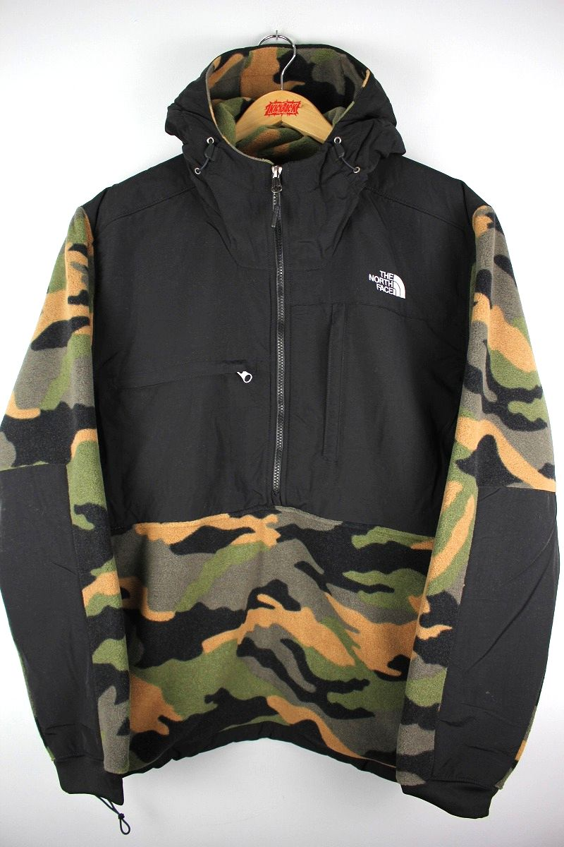 THE NORTH FACE / DENALI ANORAK / black×woodland camo