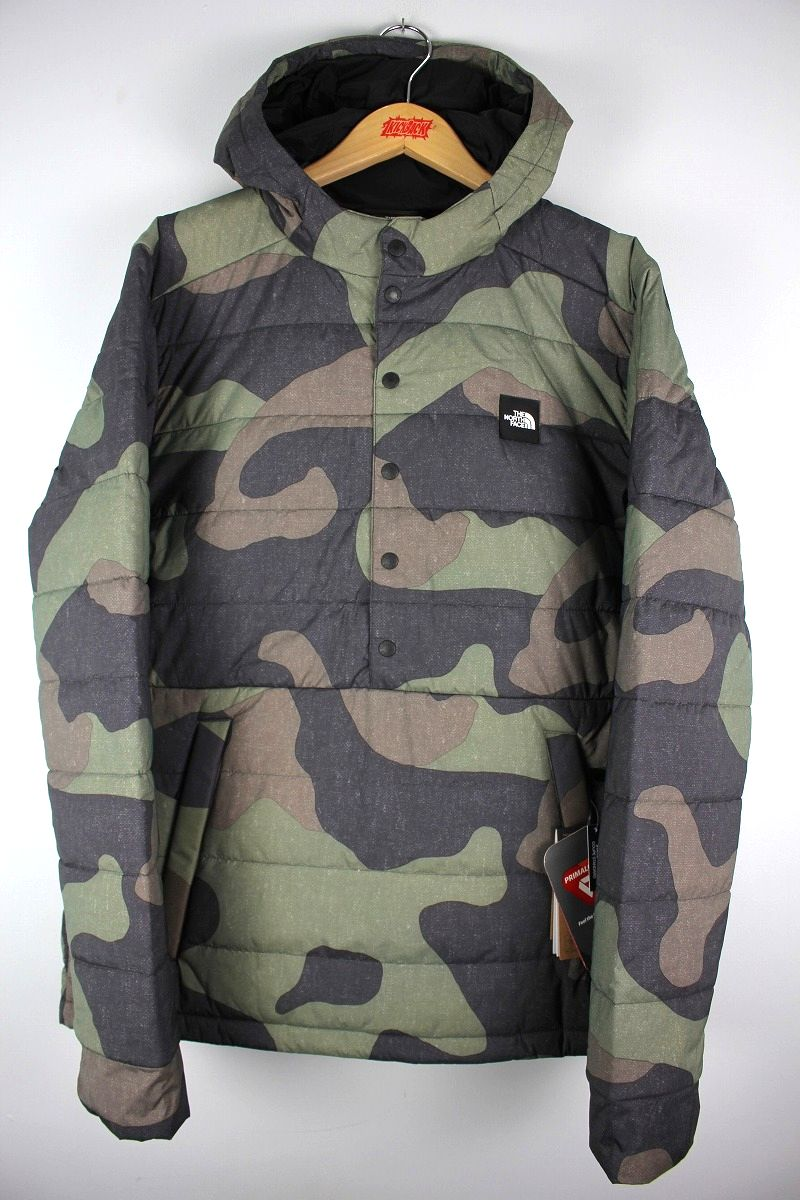 THE NORTH FACE / FALLBACK INSULATED PULLOVER HOODY JACKET / camo