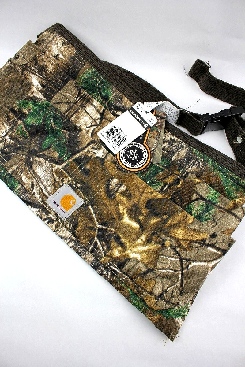 CARHARTT / DUCK NAIL APRON / real tree camo