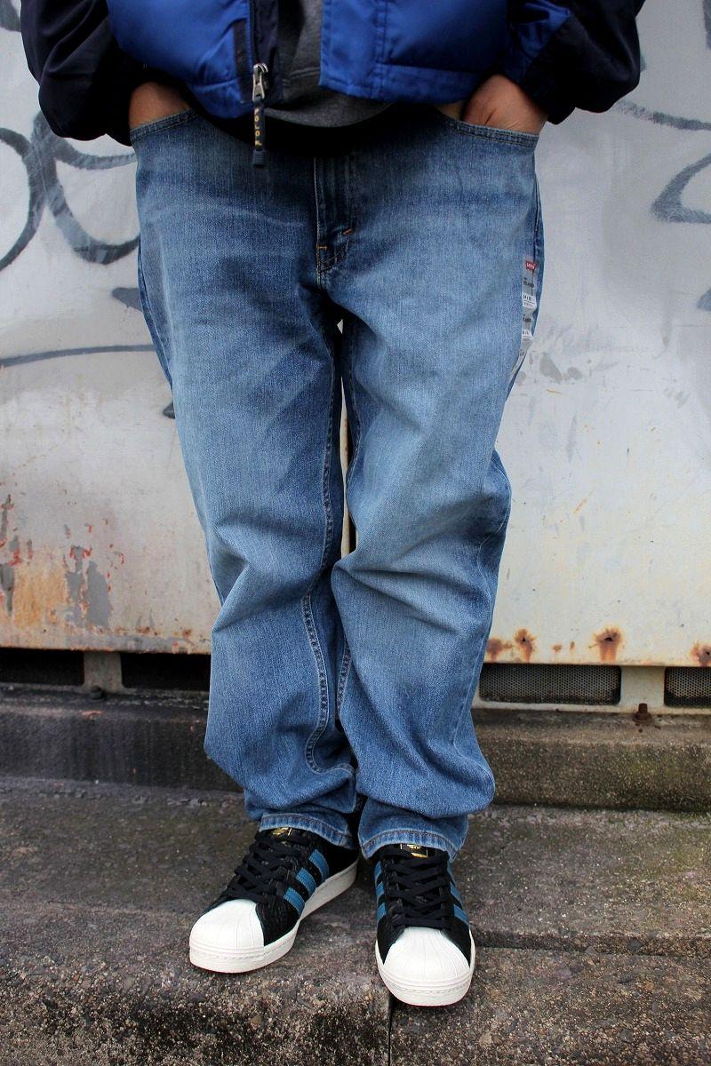 LEVI'S / 550 RELAX FIT STRETCH DENIM PANTS / vintage wash indigo