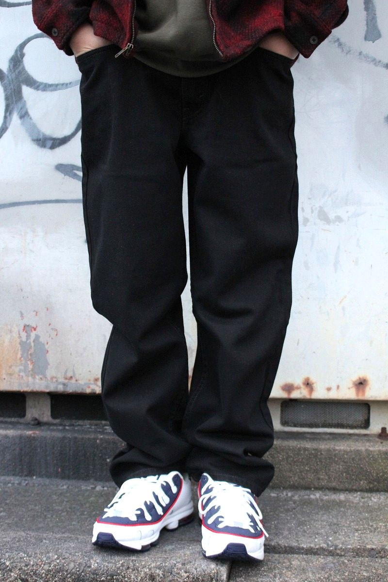 LEVI'S / 550 RELAX FIT DENIM PANTS / black (後染め)