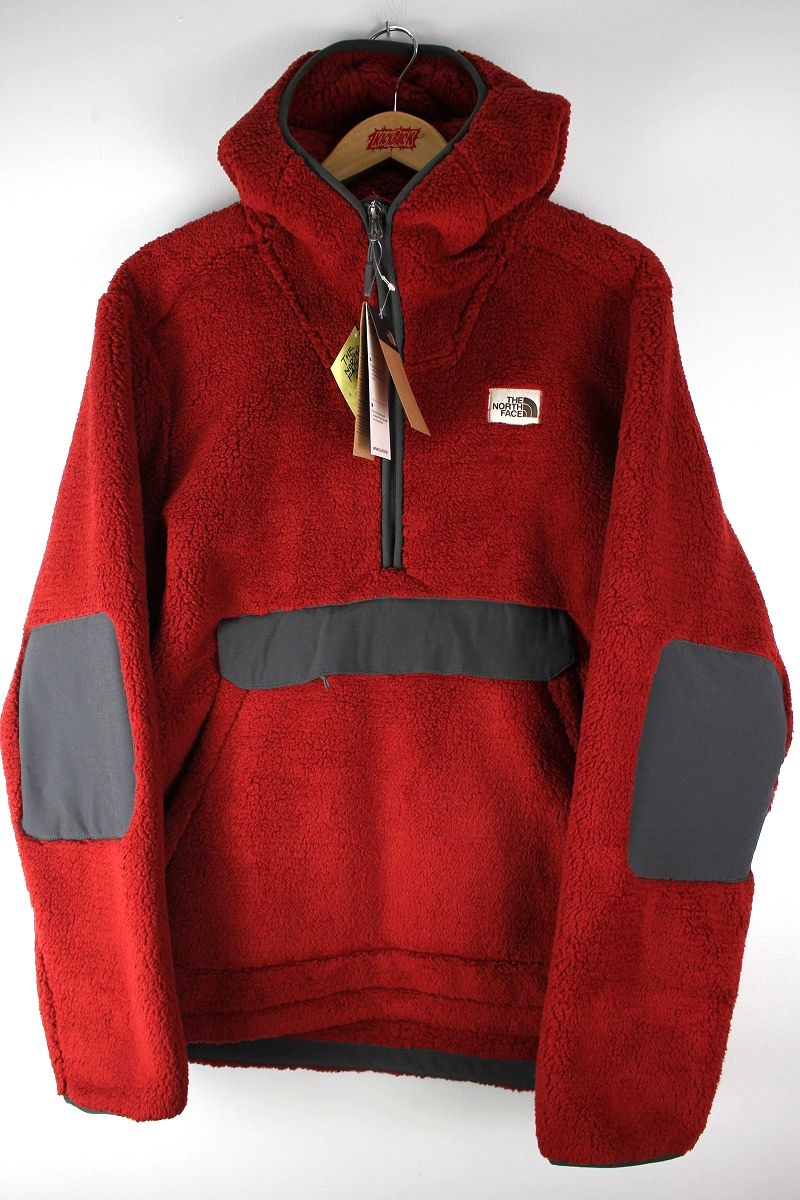 THE NORTH FACE / CAMPSHIRE PULLOVER HOODY JACKET / dark red×chacoal