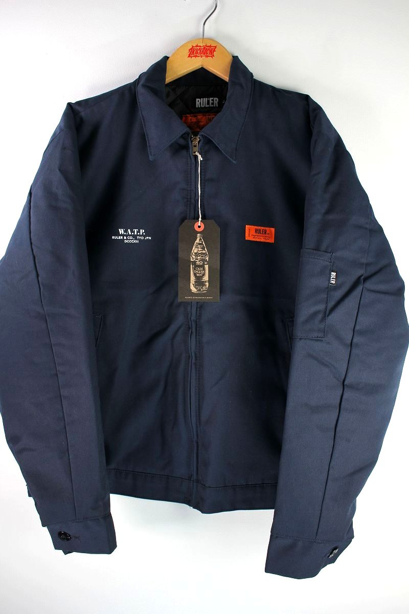 "RULER / ""W.A.T.P."" RK WORK JACKET / navy"