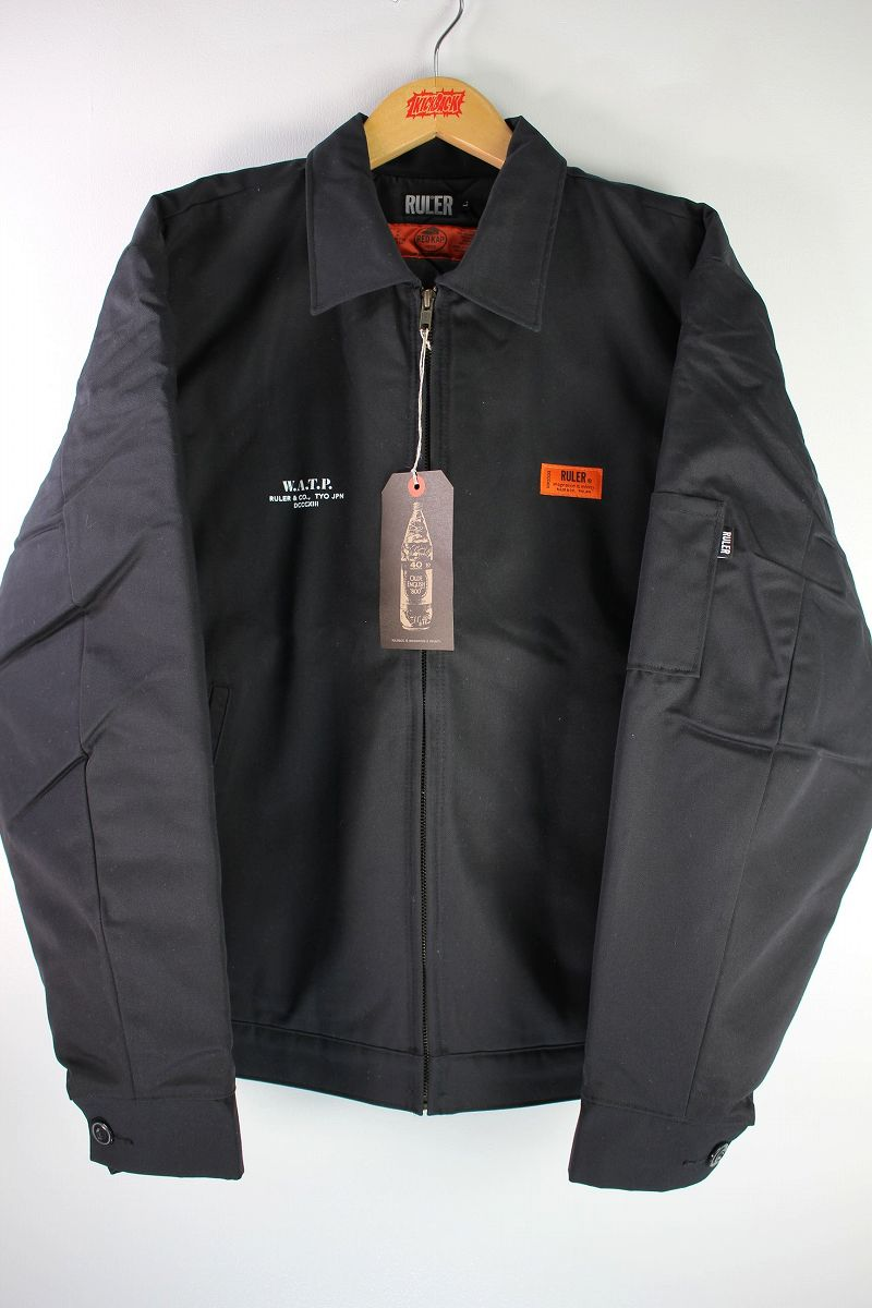 "RULER / ""W.A.T.P."" RK WORK JACKET / black"
