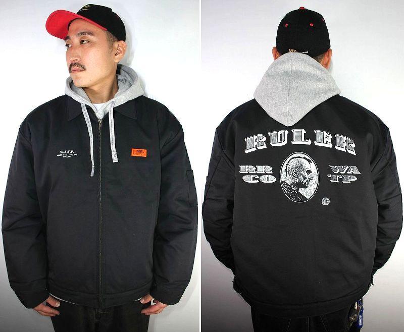 "RULER / ""W.A.T.P."" RK WORK JACKET / black"