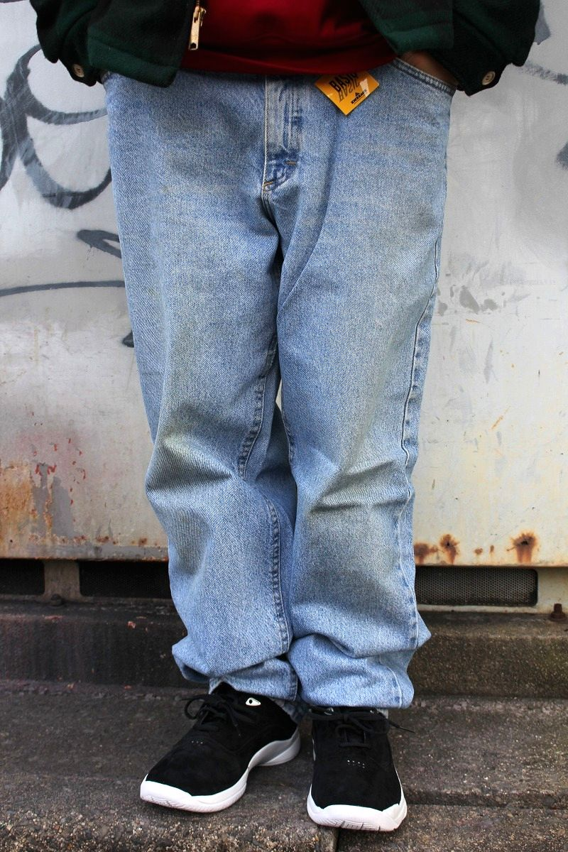 USED!!! Lee / RELAX FIT DENIM PANTS (90'S) / stone wash indigo