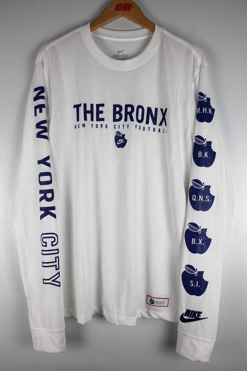"NIKE / ""NEWYORK FOOTBALL CLUB"" LS Tee / white"