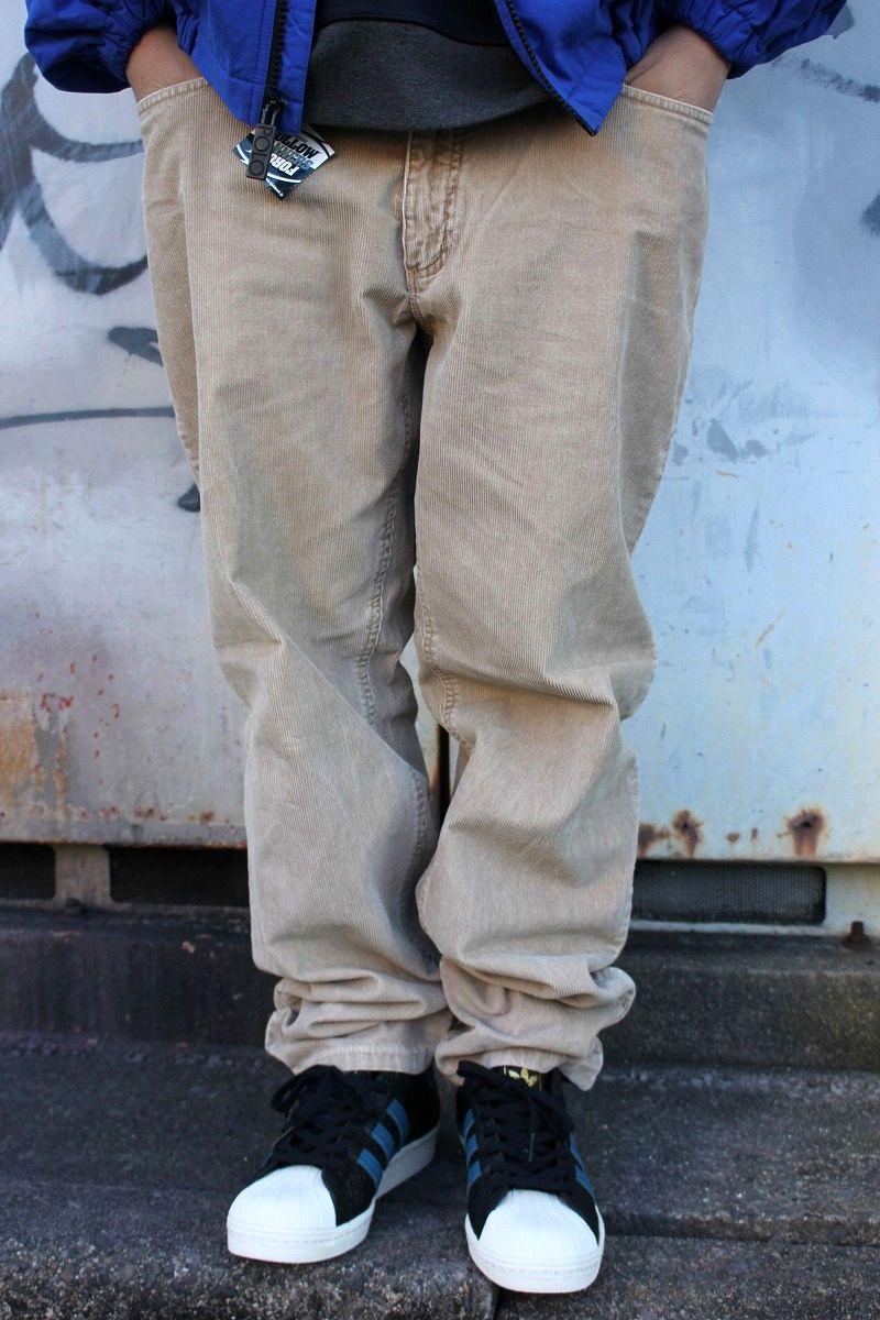 USED!!! LANDS' END / CORDUROY PANTS (00'S) / beige