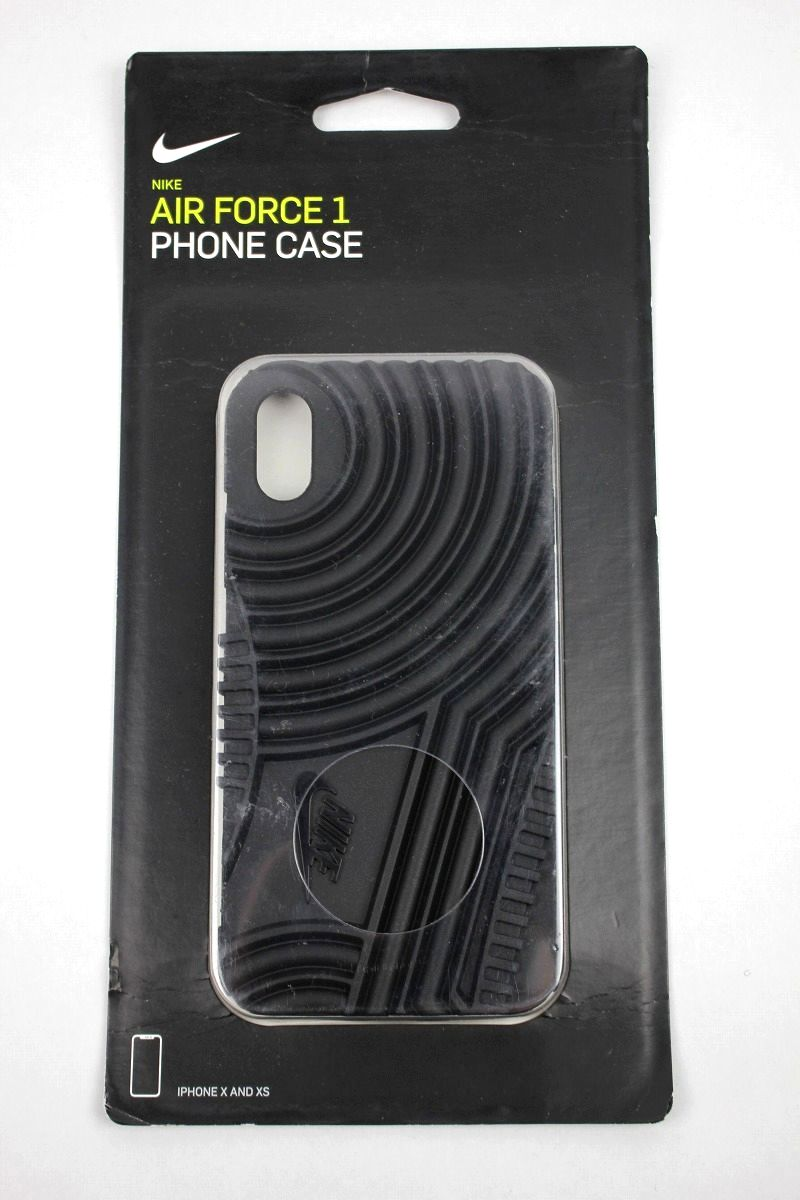 "NIKE / ""AIR FORCE 1"" iPhone CASE / black"