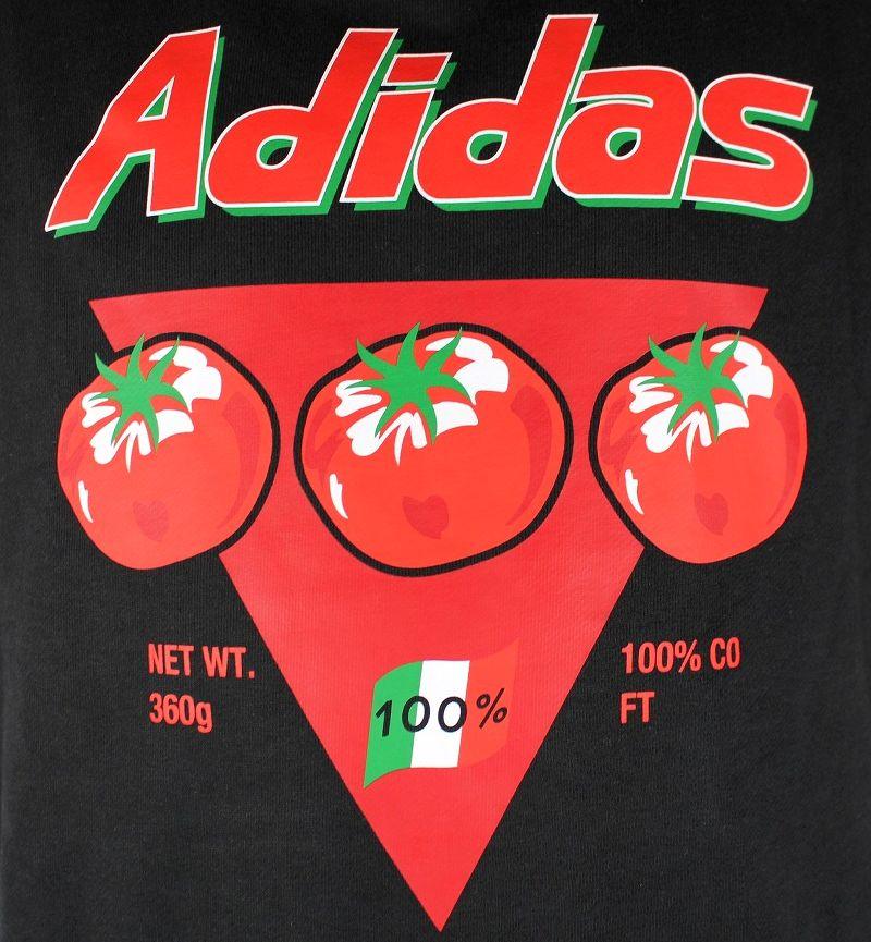 "adidas ORIGINALS / ""BODEGA CAN"" CREWNECK SWEAT / black"
