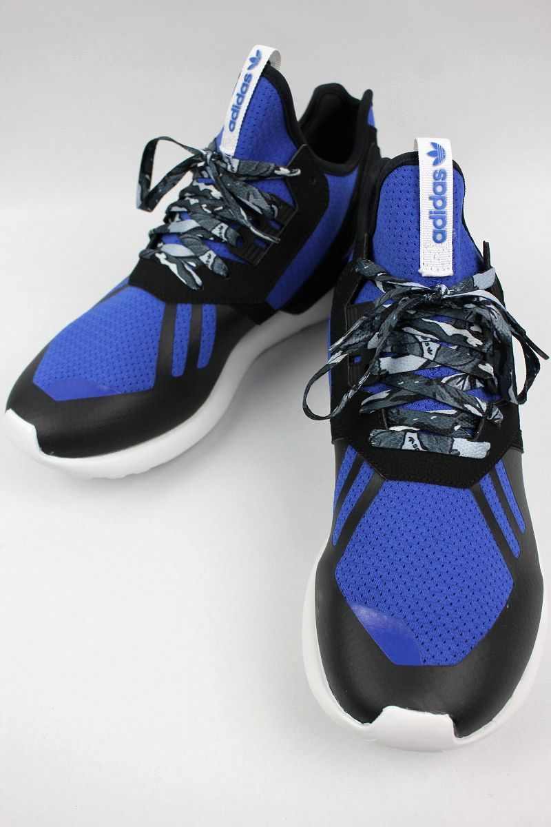 adidas ORIGINALS / TUBULAR RUNNER / black×blue×white