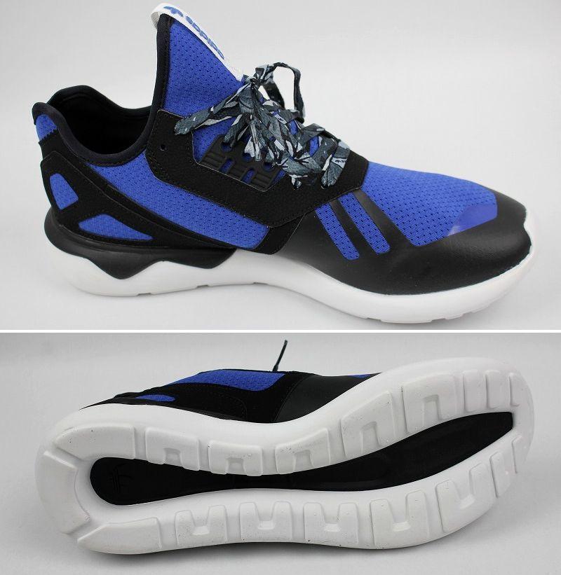 adidas ORIGINALS / TUBULAR RUNNER / black×blue×white