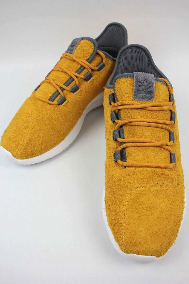 adidas ORIGINALS / TUBULAR SHADOW / mustard×white