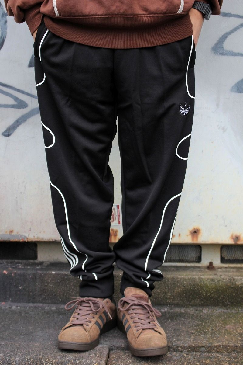 adidas ORIGINALS / FLAME STRIKE TRACK PANTS / black×white