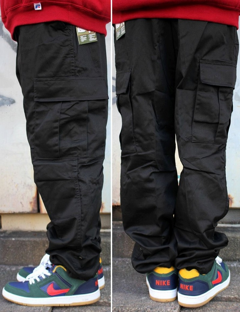 ROTHCO / BDU CARGO PANTS / black