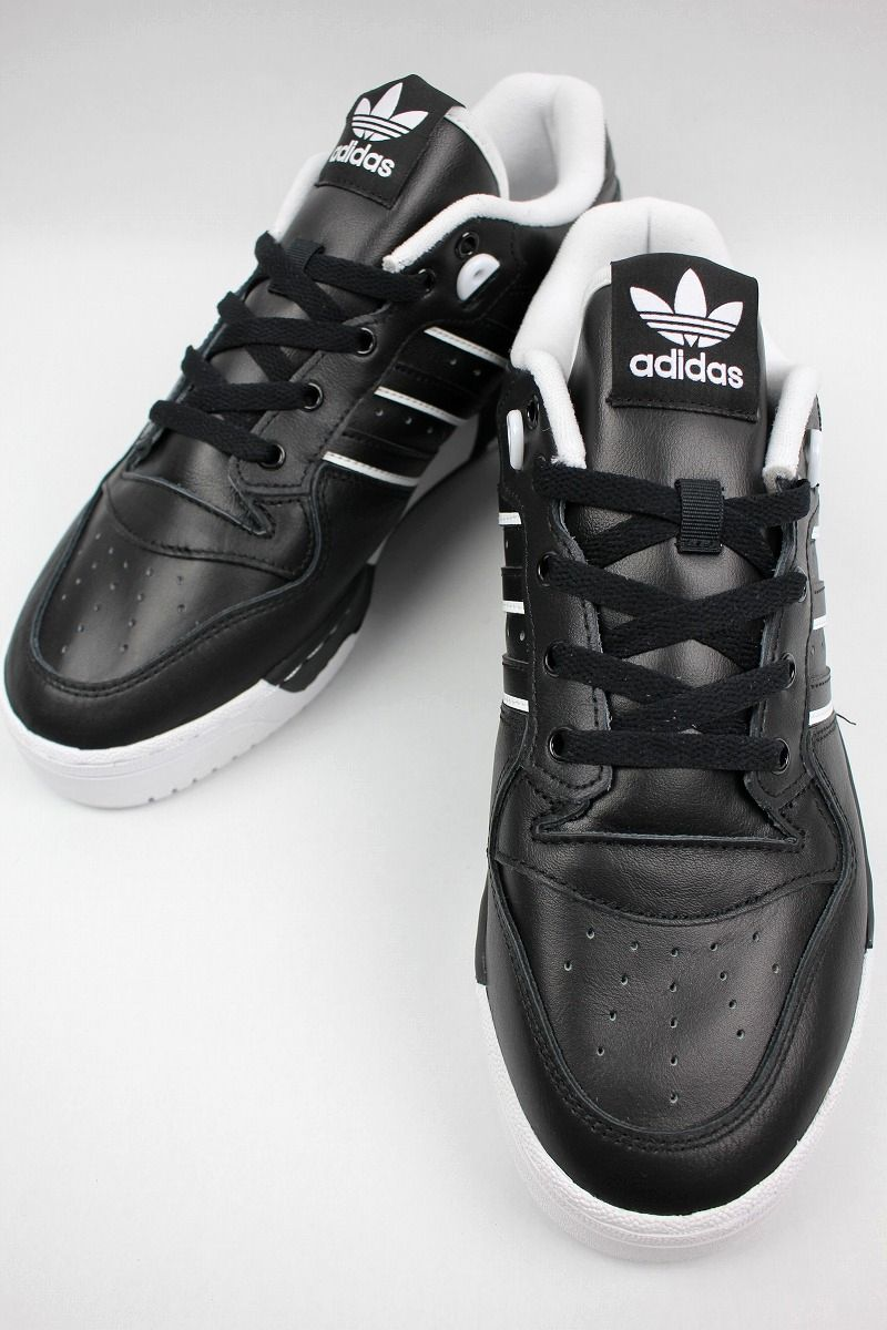 adidas ORIGINALS / RIVALRY LOW / black×white