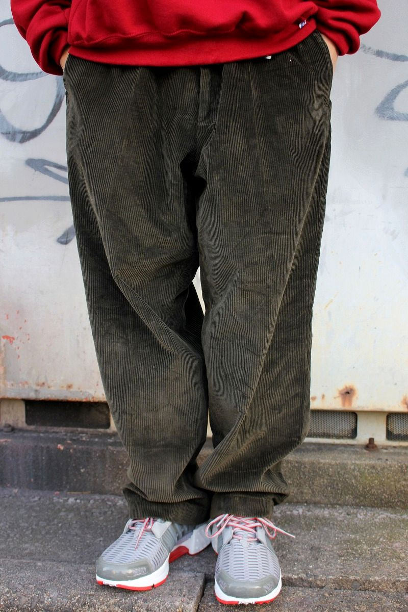 USED!!! BROOKS BROTHERS / CORDUROY PANTS (00'S) / dark brown