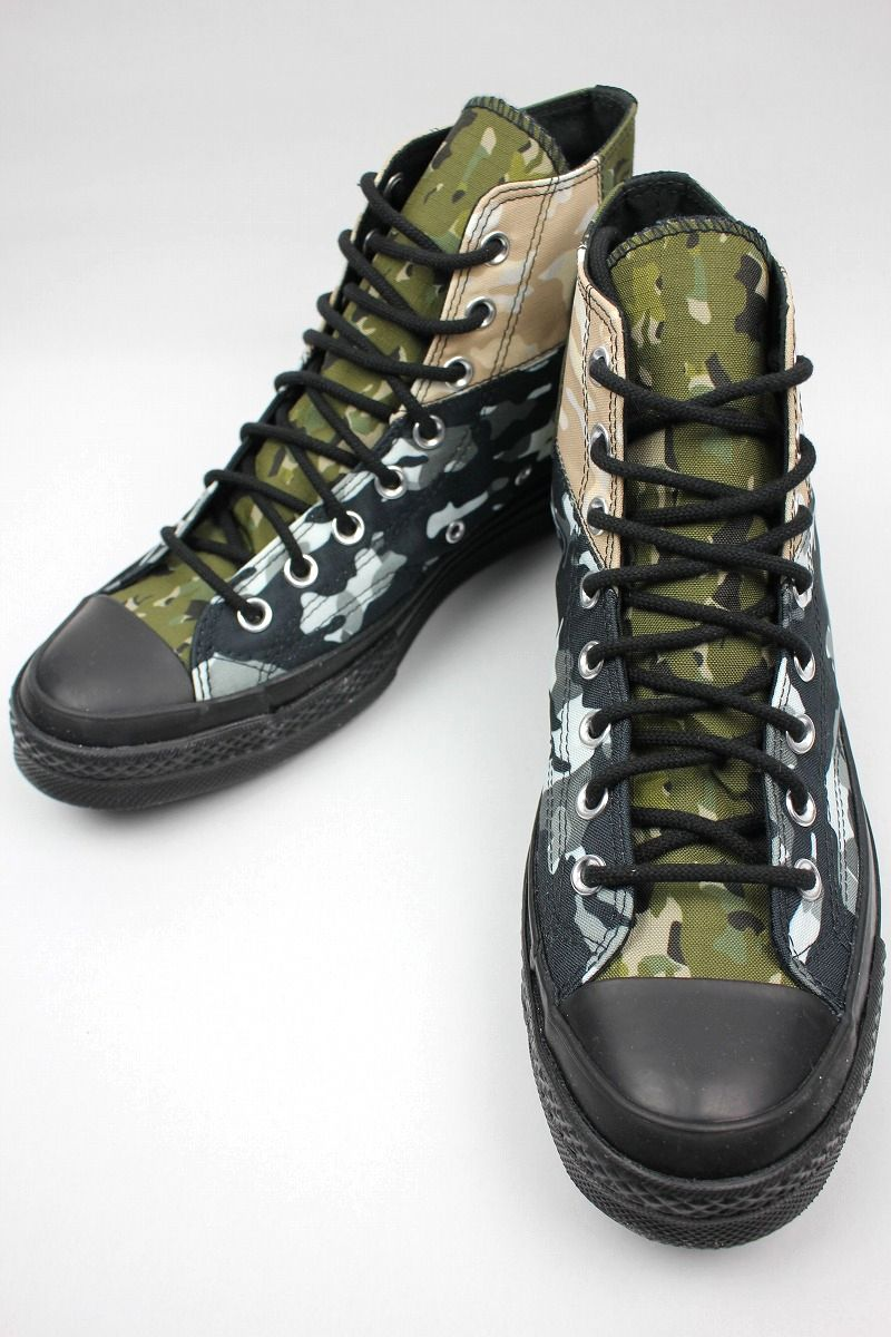 CONVERSE USA / CHUCK 70 HIGH / blocked camo×black