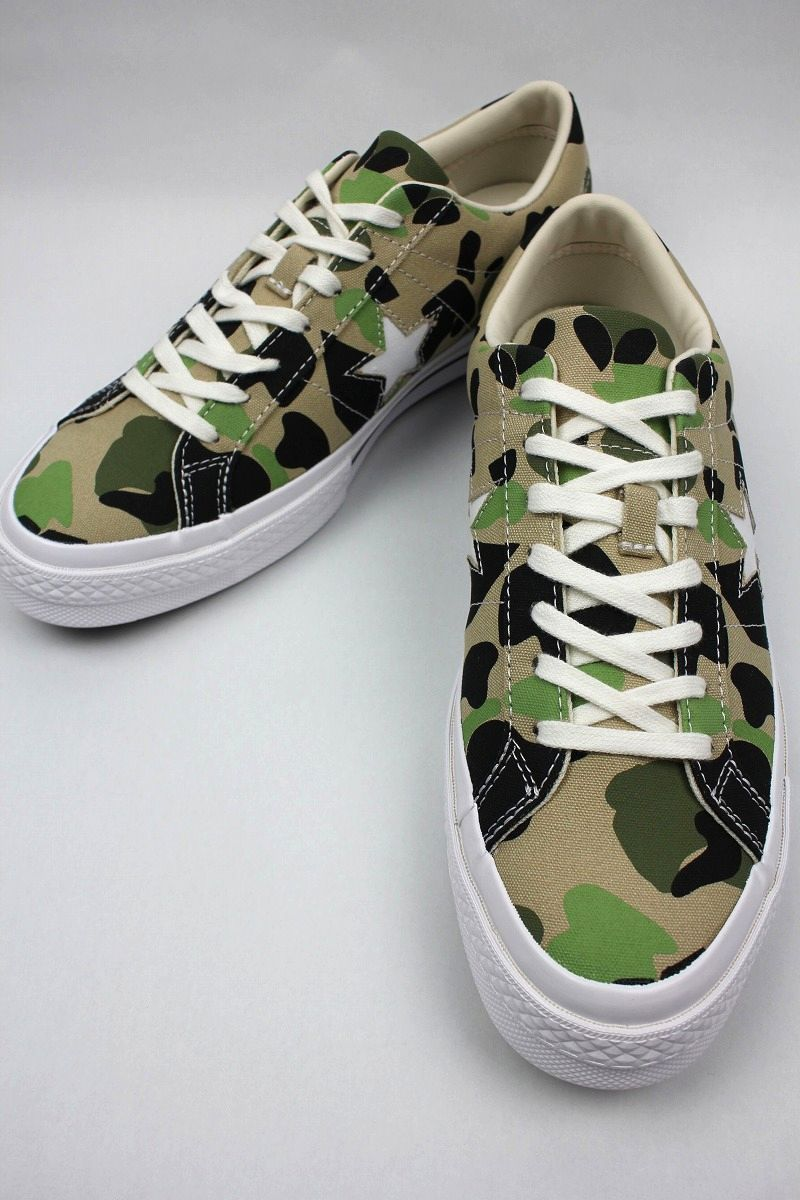 CONVERSE USA / ONE STAR OX / duck hunter camo×white