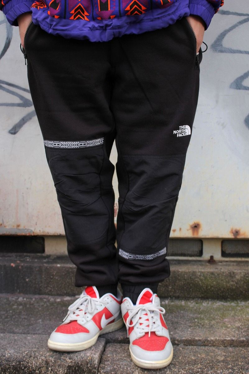 "THE NORTH FACE / ""92 RAGE COLLECTION"" FLEECE PANTS / black"