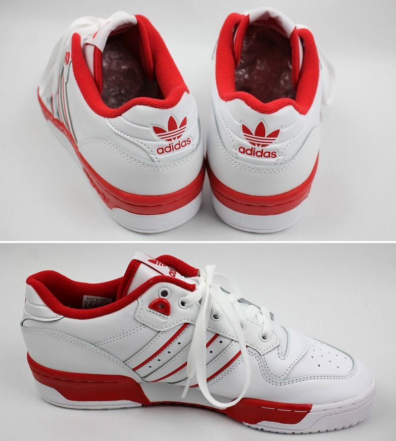 adidas ORIGINALS / RIVALRY LOW / white×red