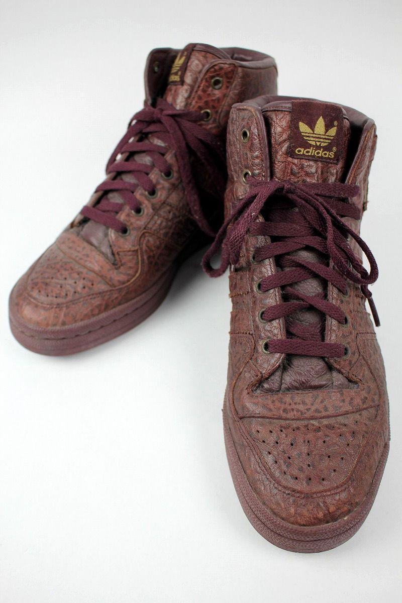 "USED!!! adidas ORIGINALS / ""SNAKE"" FORUM MID (03年製) / reddish brown"