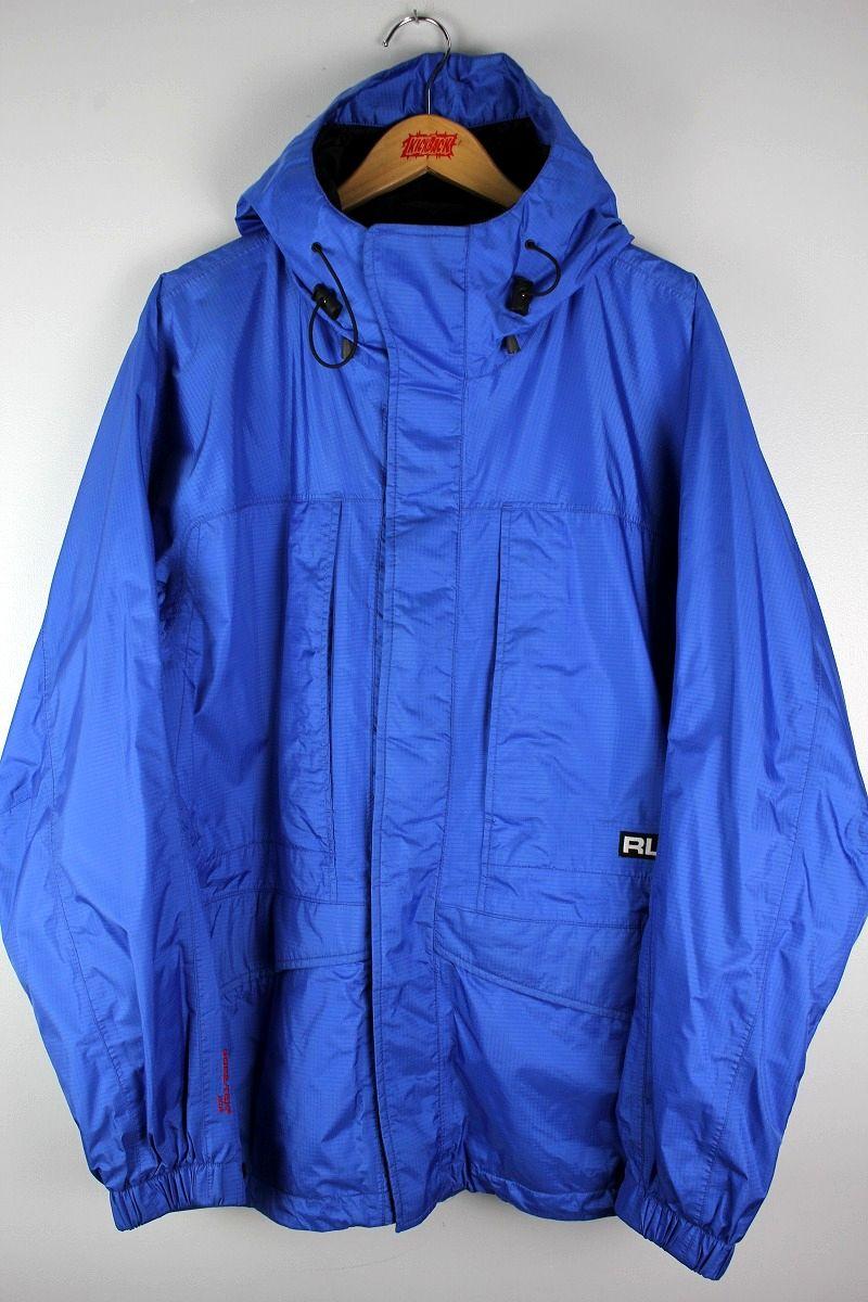 USED!!! RLX POLO SPORT / GORETEX MOUNTAIN JACKET (90'S) / blue