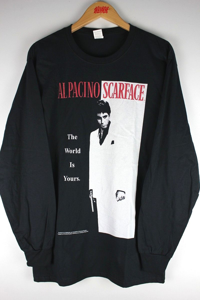 "SCARFACE / ""ALPACINO"" LS Tee / black"