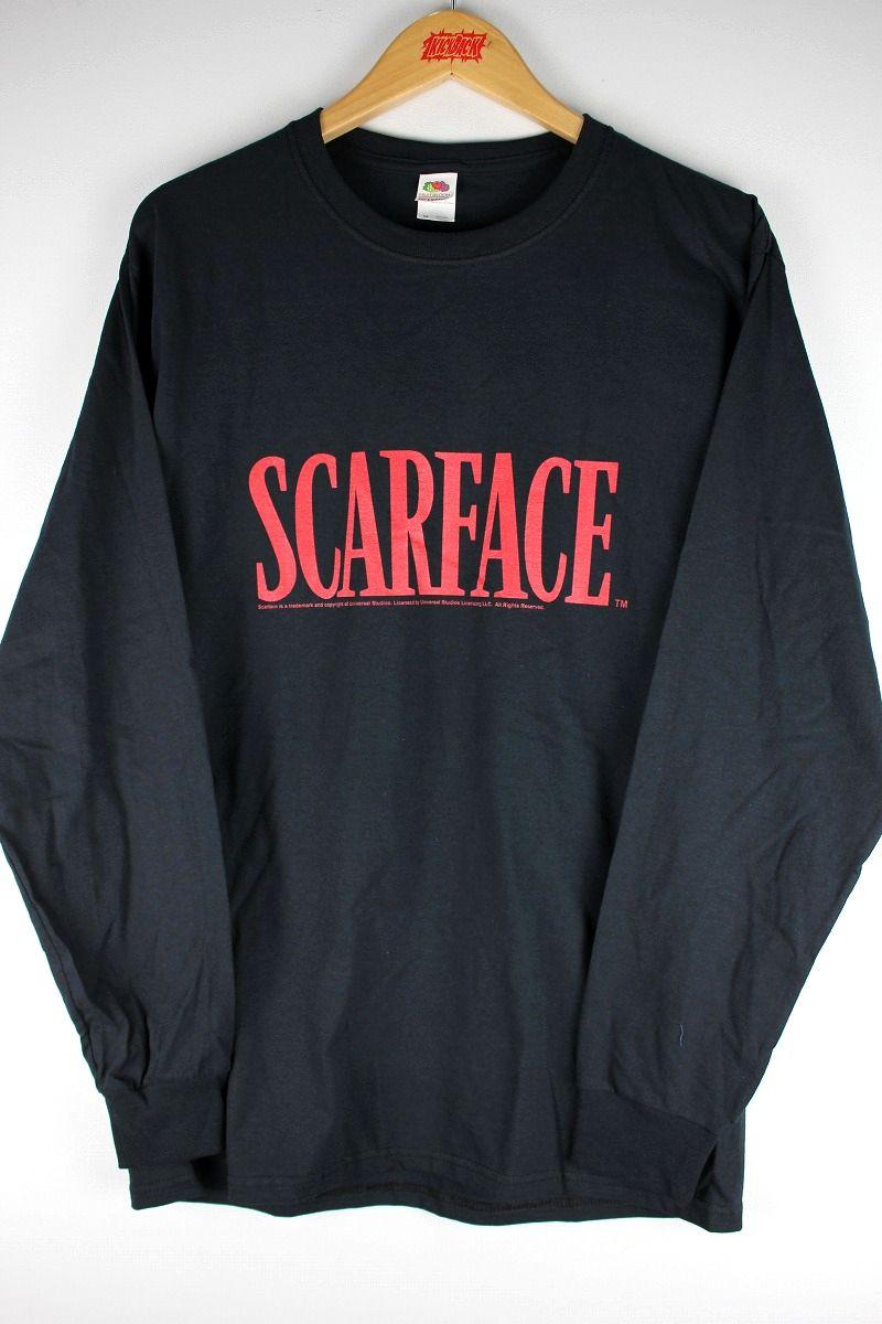 "SCARFACE / ""CLASSIC LOGO"" LS Tee / black"