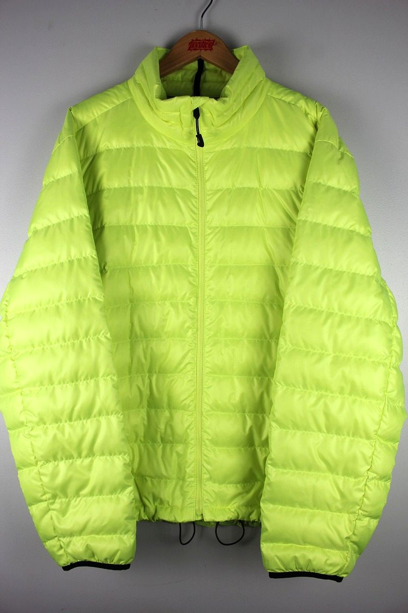 USED!!! RLX / LIGHT DOWN JACKET / flash yellow×black