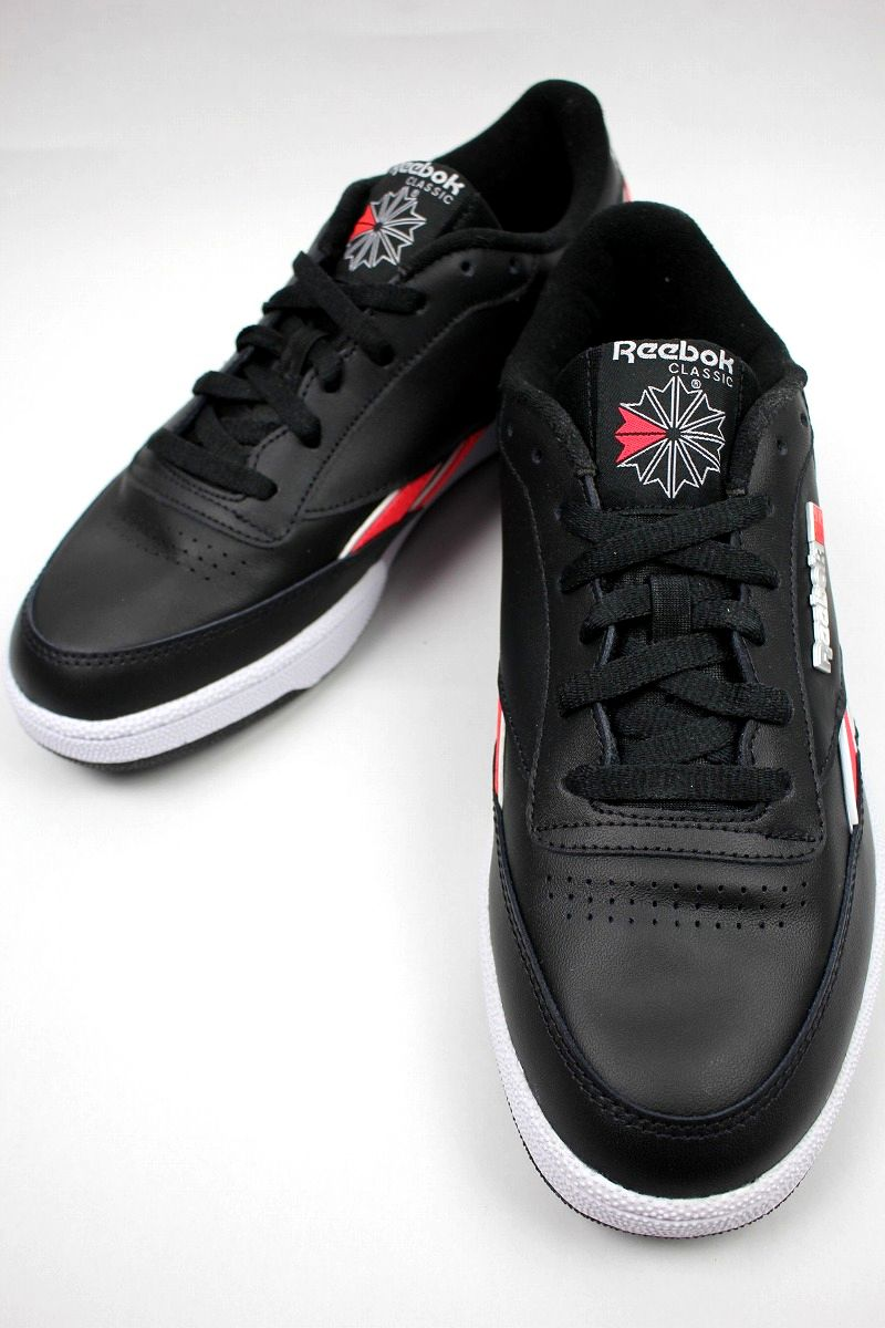 REEBOK / CLUB C REVENGE / black×red×white