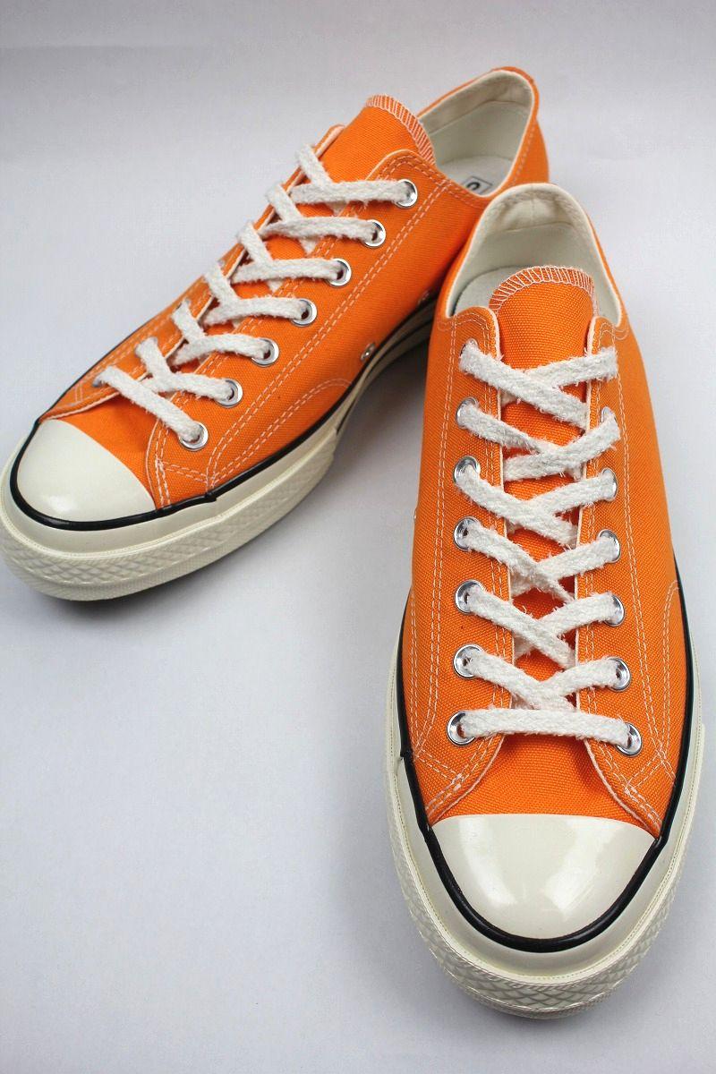 CONVERSE USA / CHUCK 70 / bright orange×white