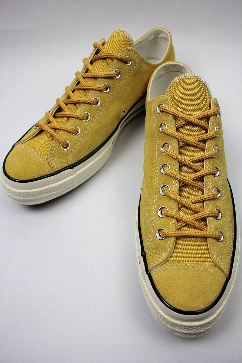 CONVERSE USA / CHUCK 70 SUEDE / mustard×white