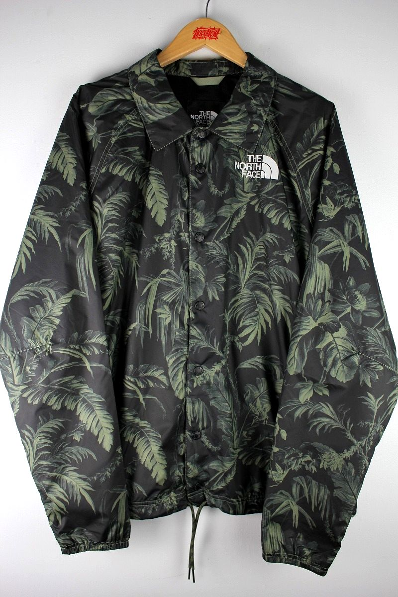 THE NORTH FACE / COACH JACKET / leaf camo