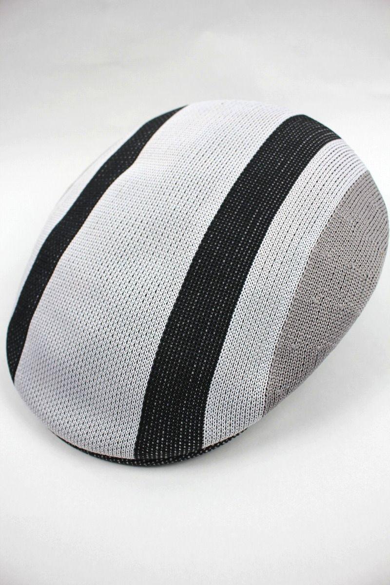 KANGOL / SYM STRIPE504 / white