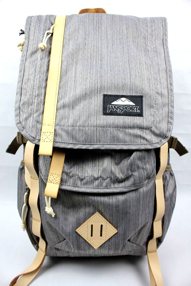 JANSPORT / HATCHET DL BACKPACK / beige melange weave