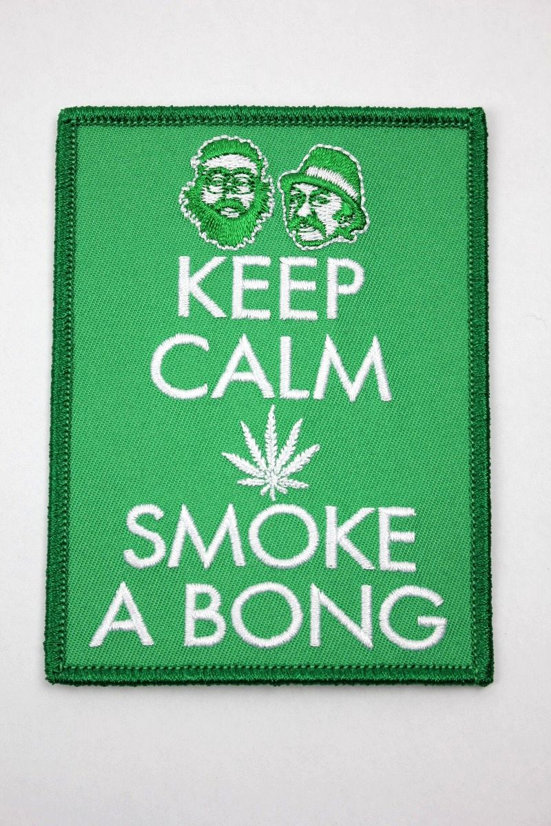 "CHEECH & CHONG / ""KEEP CALM"" PATCH"
