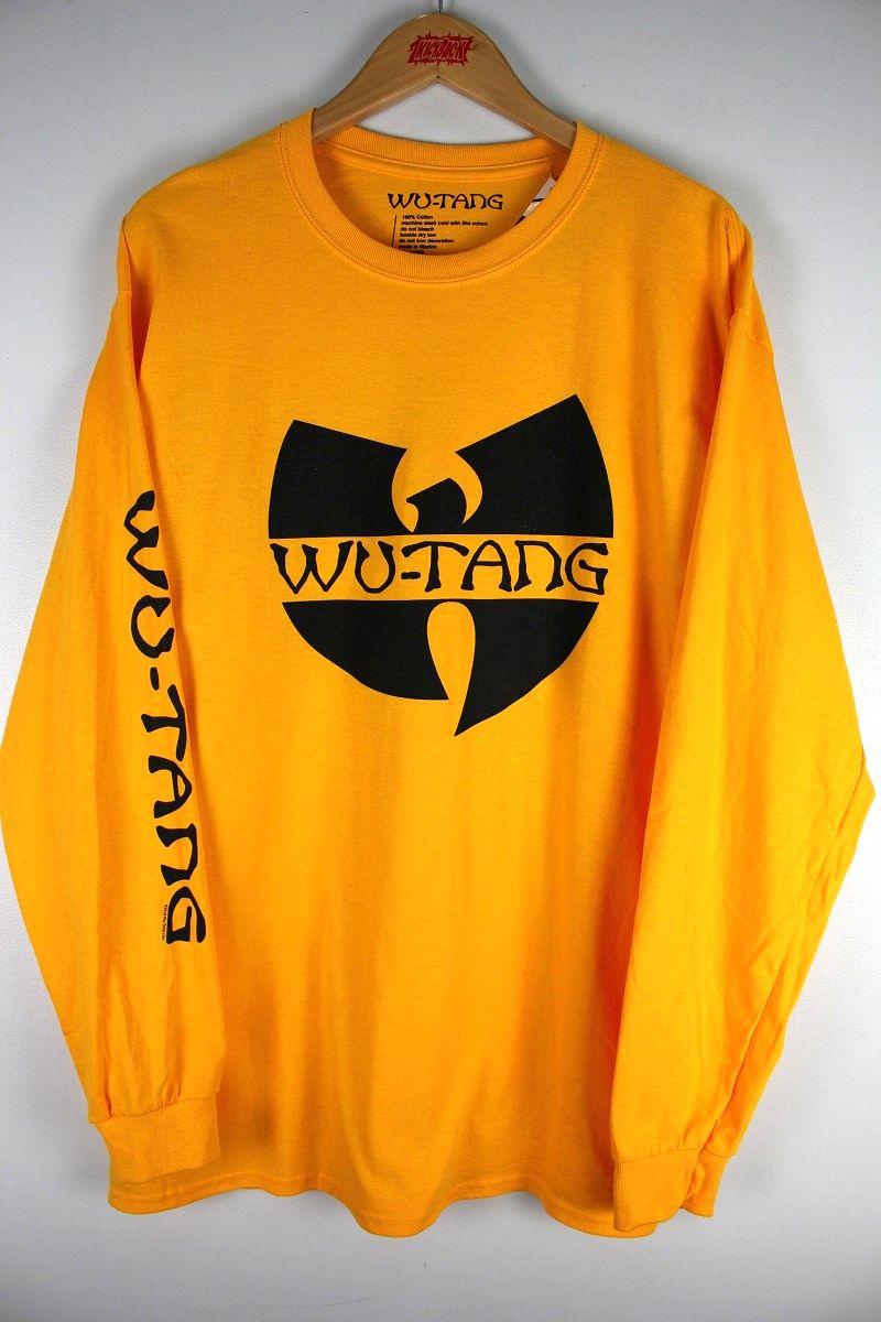 """WU WEAR / """"W LOGO"""" LS Tee / yellow"""