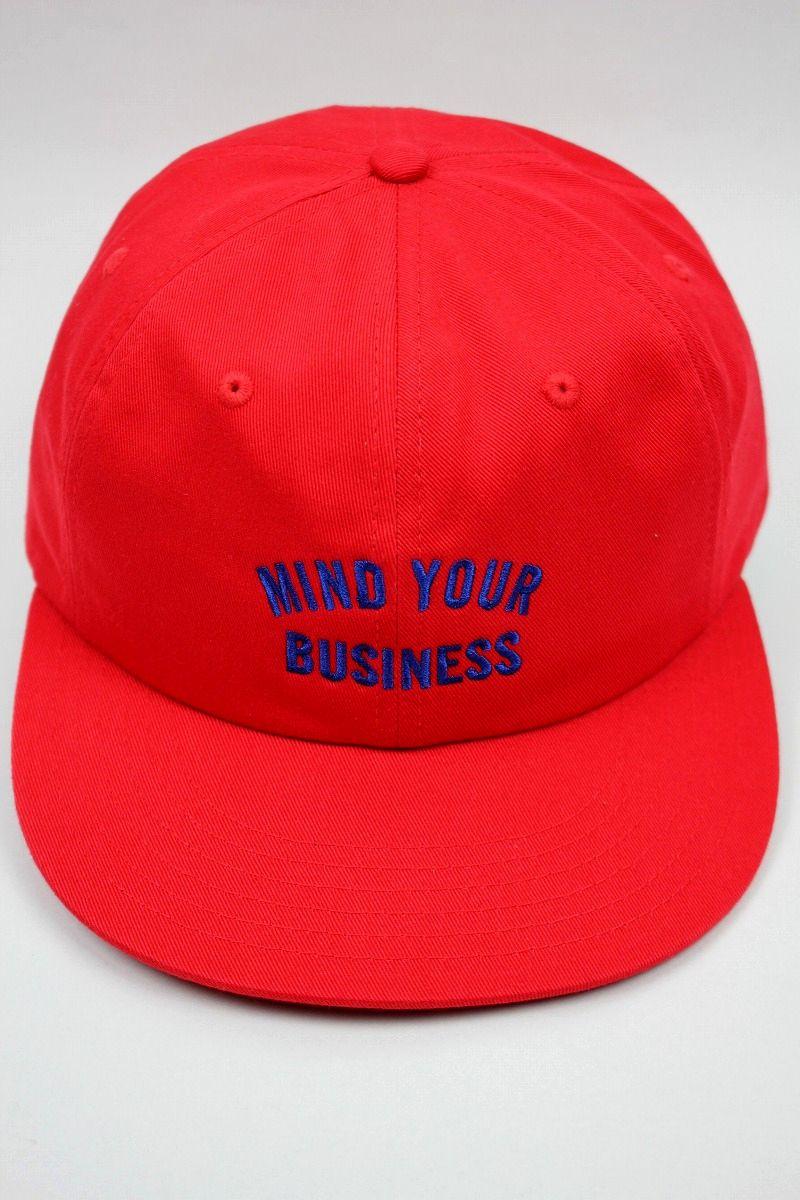 "ACAPULCO GOLD / ""MYB"" STRAPBACK CAP / red"