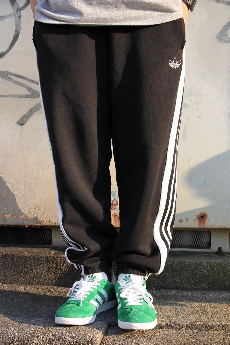 adidas ORIGINALS / LOCK UP TRACK PANTS / black×white