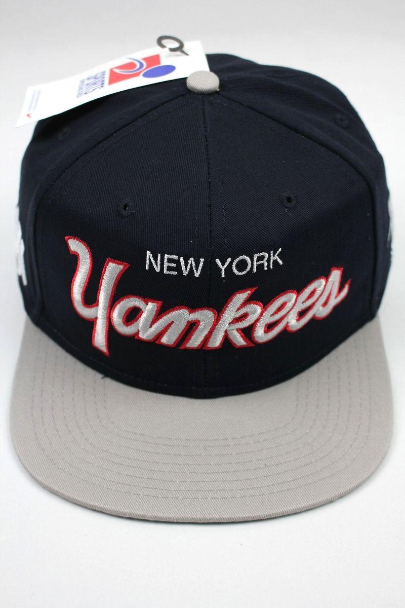 """SPORTS SPECIALTIES by NIKE / """"NEWYORK YANKEES"""" SNAPBACK CAP / navy×grey"""
