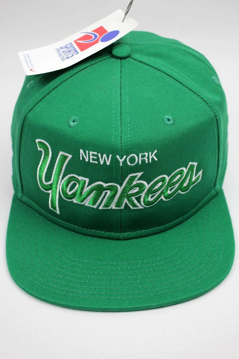 """SPORTS SPECIALTIES by NIKE / """"NEWYORK YANKEES"""" SNAPBACK CAP / green"""