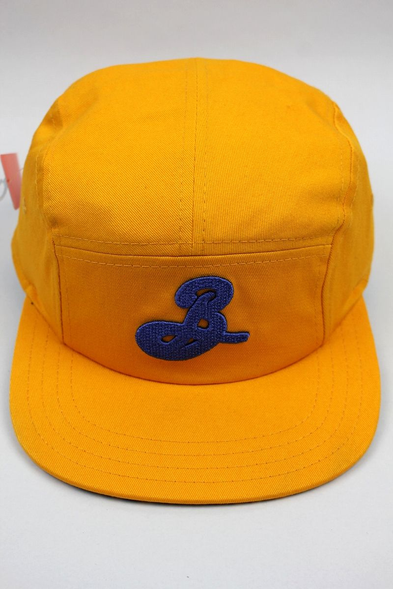 BROOKLYN BREWERY / 5-PANEL CAP / yellow