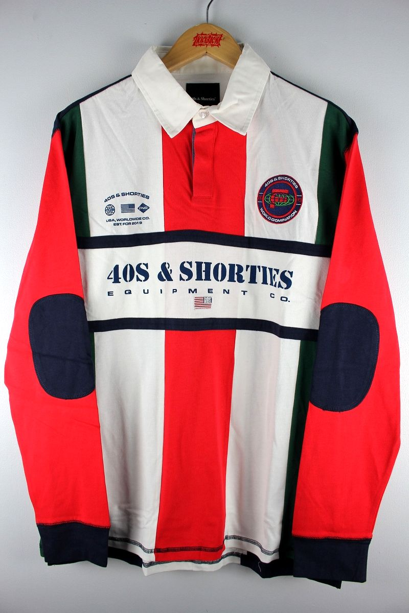 "40S & SHORTIES / ""UPTOWN"" RUGBY SHIRT"