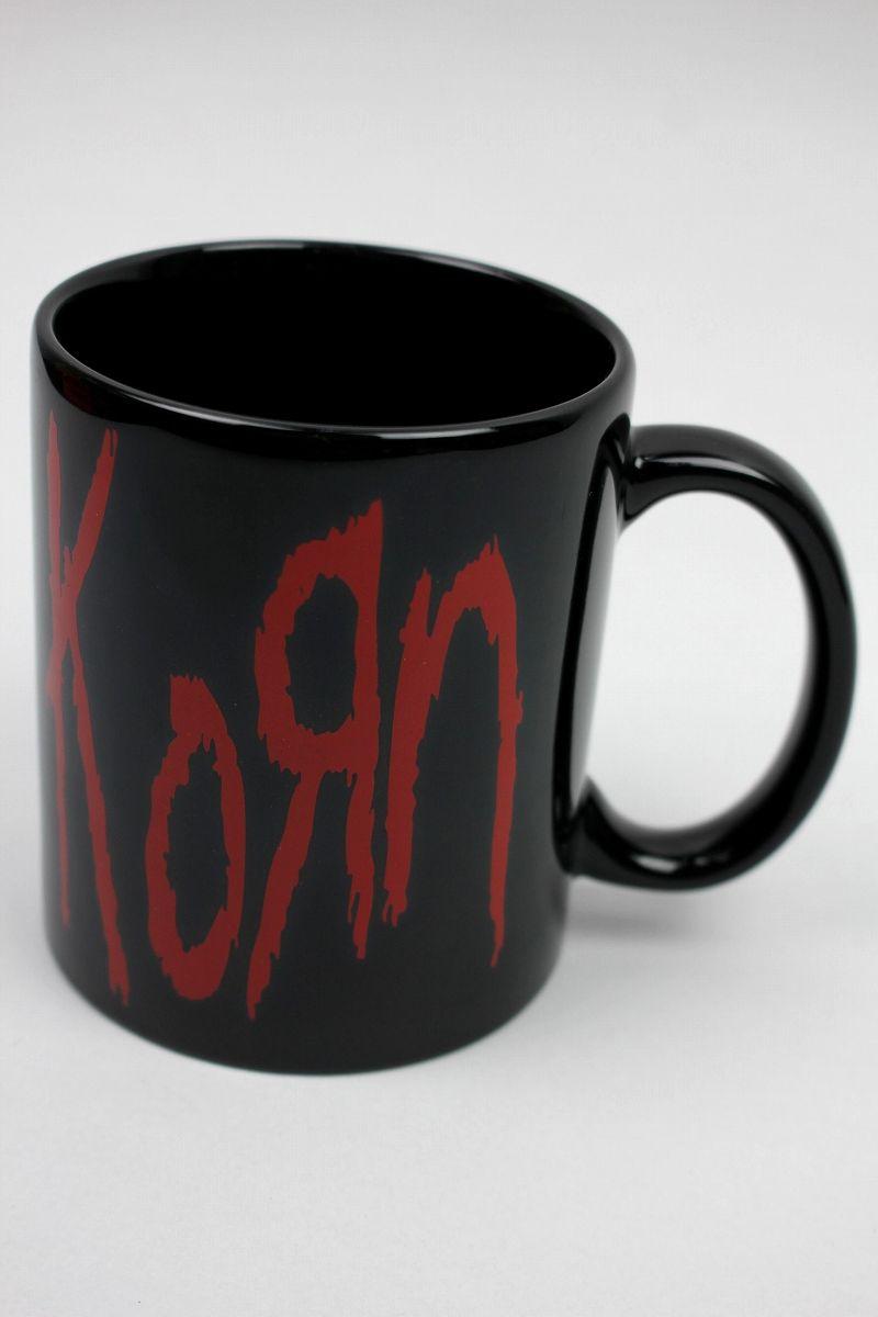 "KORN / ""LOGO"" MUG CUP / black"