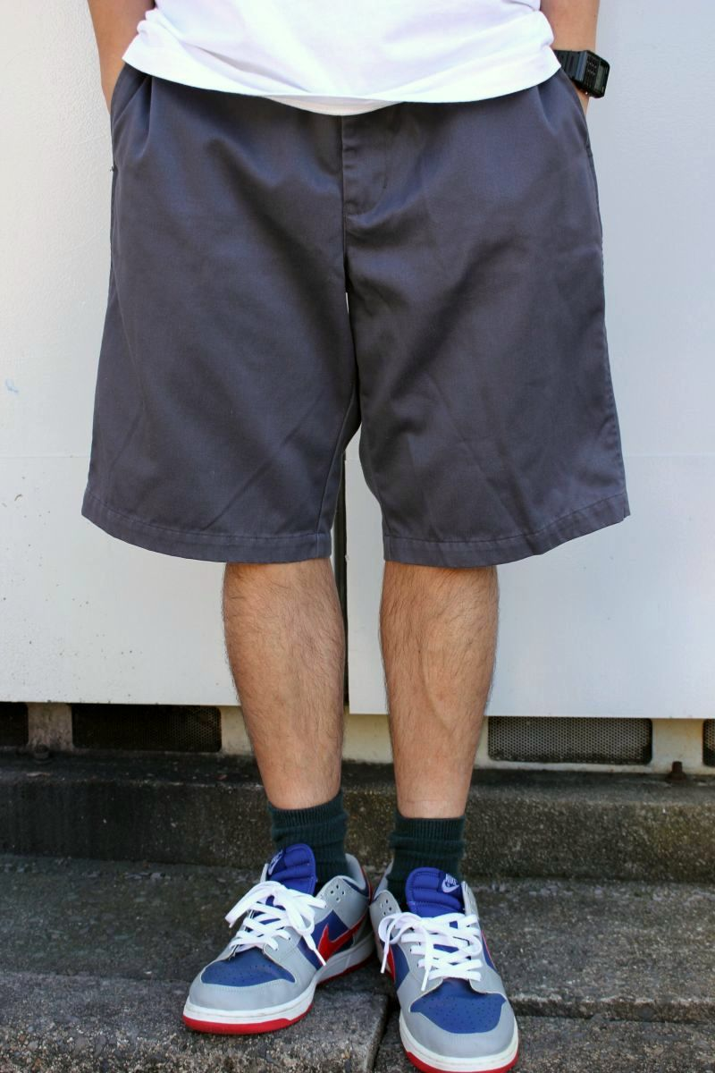 USED!!! STUSSY / WORK SHORTS (90'S) / chacoal