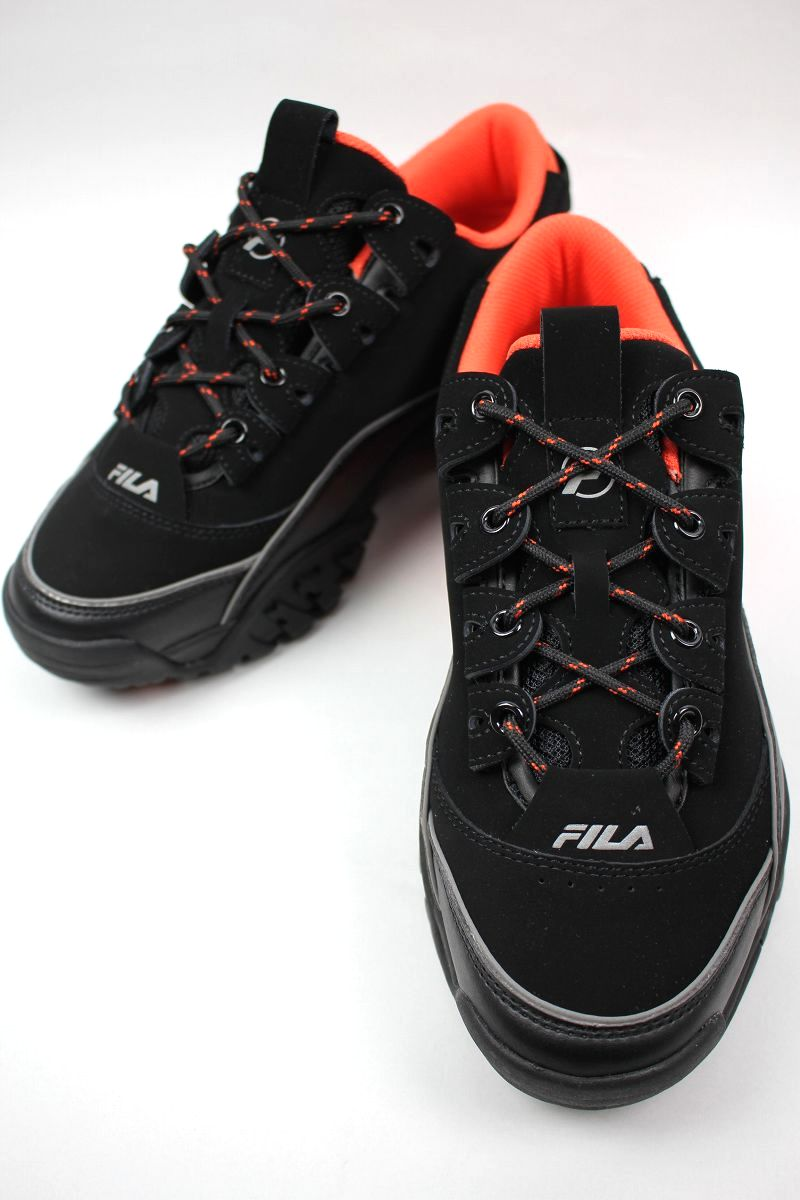 FILA / PROVENENCE X FUTURE / black×coral red