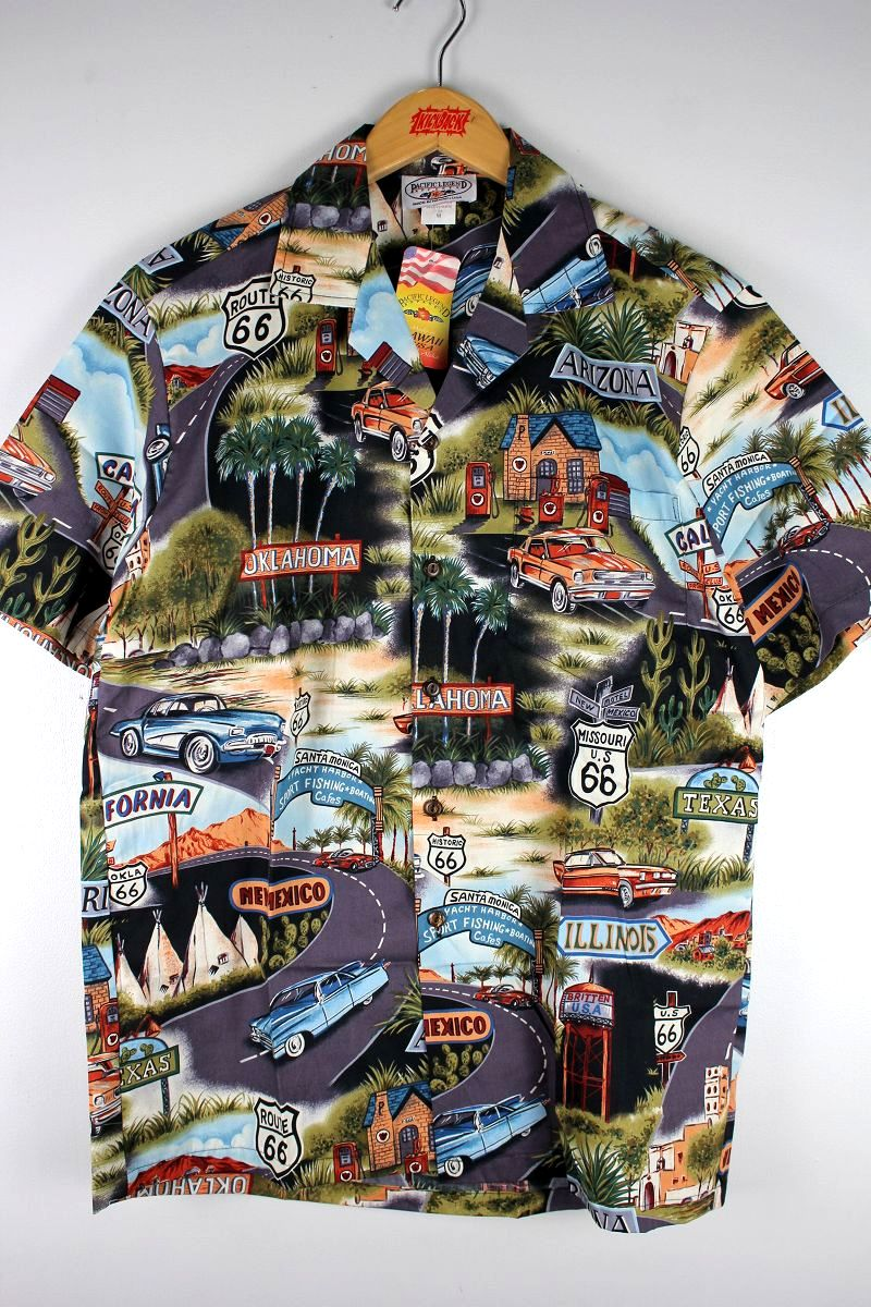 "PACIFIC LEGEND / ""ROUTE 66"" ALOHA SHIRTS"