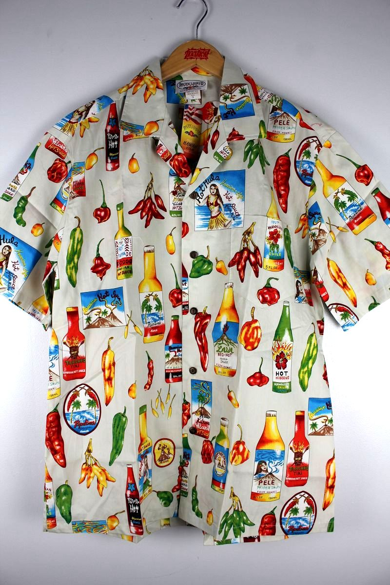 "PACIFIC LEGEND / ""HOT SAUCE"" ALOHA SHIRTS"