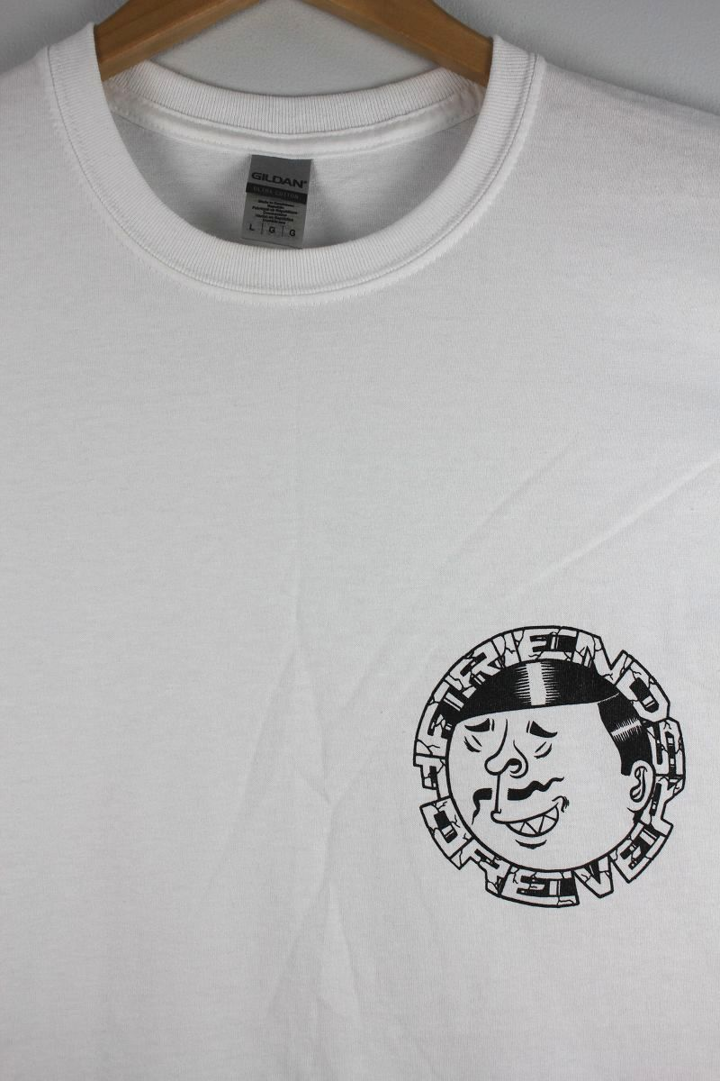 "STARTER×MASTER PEACE / ""FRIENDS FOREVER"" Tee / white"
